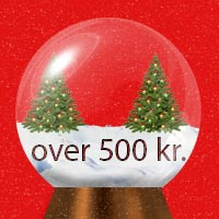 Julegaver fra 500 kr.