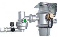 Truma DuoControl CS gasregulator - horisontal montage