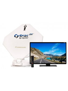 Cytrac DX Premium - Twin parabol og 24 tommer LED TV