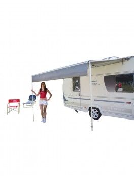 "Fiamma Markise med telt ""Caravanstore ZIP XL 360"" - Royal Grey"