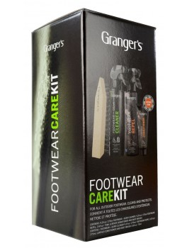 Granger´s Footwear Clean & Proof Kit