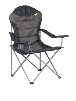 Kampa XL High Back foldestol Grå