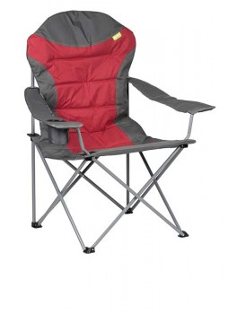 Kampa XL High Back Foldestol Rød