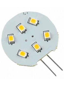 Pære LED G4-6 SMD 12V 2W Ø 25mm