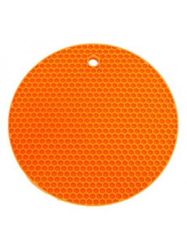 Rund grydelap - matcher Lotus Grill, Orange