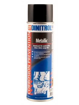Rustbeskyttelse Slidlag - Dt. Metallic - 500 ml
